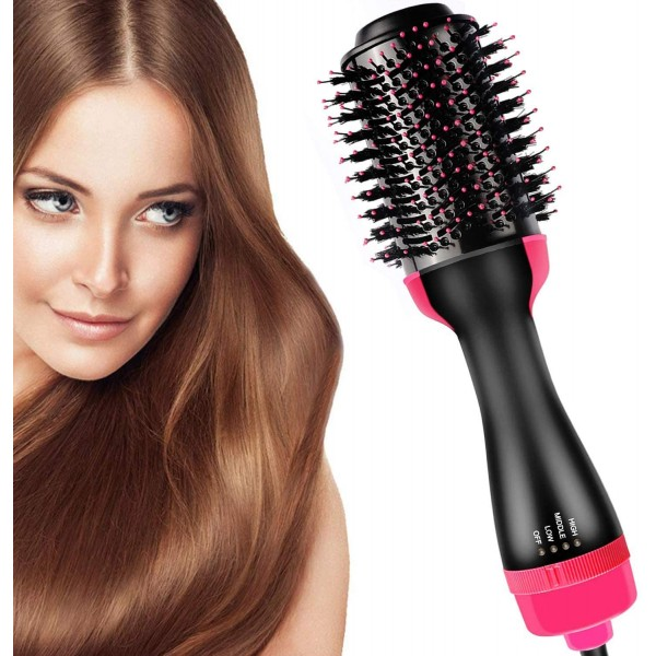3 in 1 Electric Hair Dryer Volumizer with Negative Ion Curling Dryer Brush