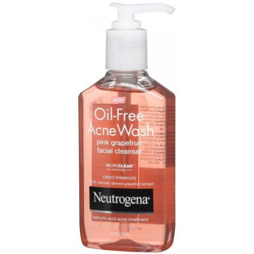 Neutrogena  Acne Wash Oil-Free Facial Cleanser