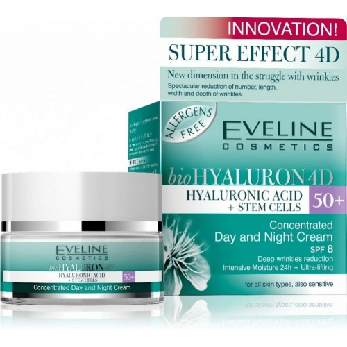 Biohyaluron 4d Concentrated Face Day & Night Cream 50 for All Skin Types