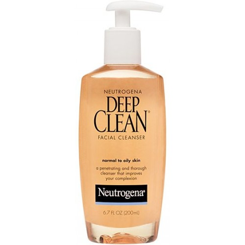 Neutrogena Deep Clean 200ml Facial Cleanser