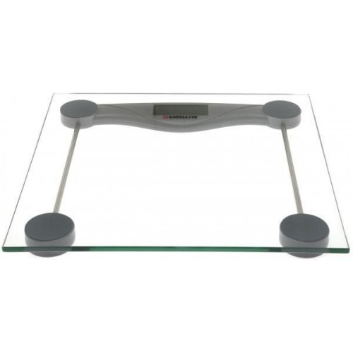 [BM Satellite Weight Scale Glass Electronic with LCD display 180 kg- BM-150]