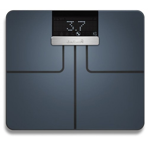 Garmin Index Smart Scale With Wifi and Bluetooth - (Black)