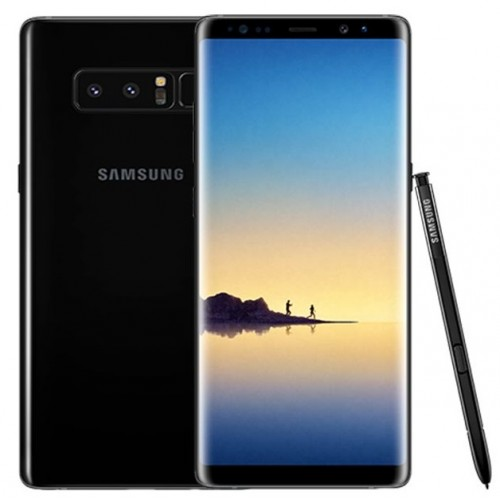Samsung Galaxy Note 8 - 4G - 64GB -Dual Sim - Midnight Black