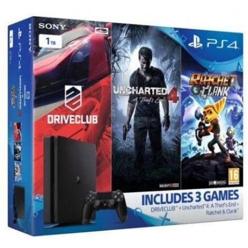 Sony PlayStation 4 1TB Slim Mega Pack Bundle
