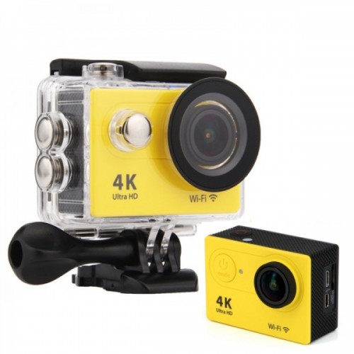 4K Ultra HD Waterproof Action Camera With Remote Control