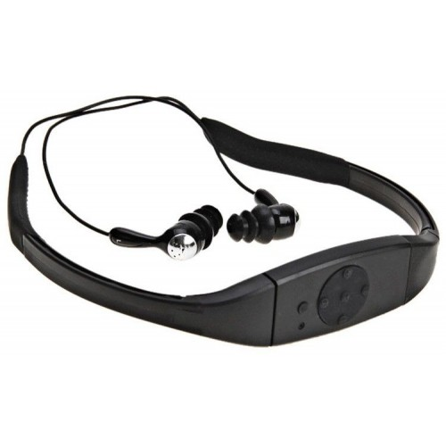 MP3 Player 4GB Waterproof Water Proof FM Radio Swimming Surfing SPA IPX8 Sports mp3