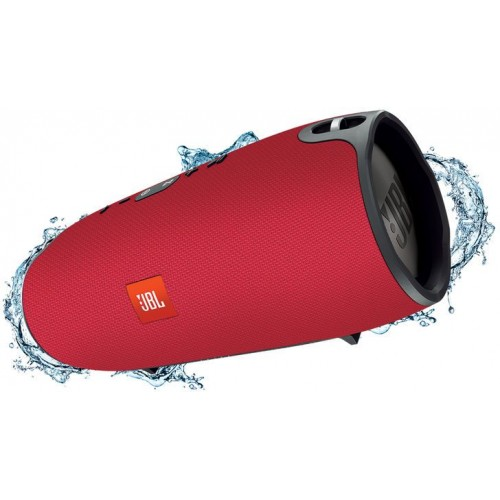 JBL Xtreme Splashproof Portable Speaker with Ultra-Powerful Performance - (Red)