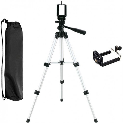 Portable iPhone Camera Tripod Stand Holder