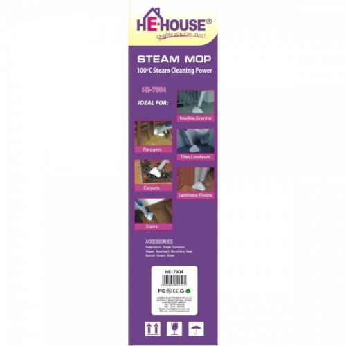 He-House Steam Mop Cleaner - HE-7904