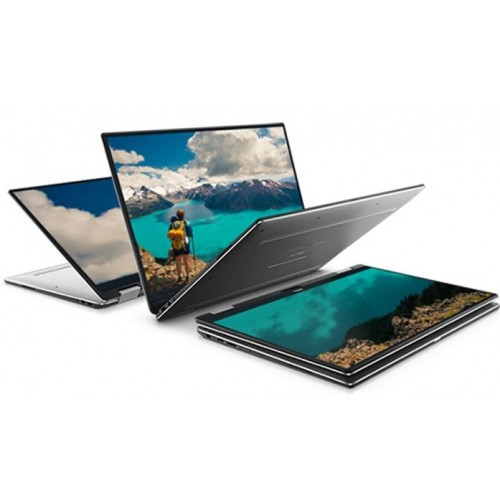 "Dell XPS 13 2017 2-in-1 - 1062 - 13.3"" FHD Touch / Core i5 / 4GB RAM / 128GB SSD / Windows 10 - Silver"