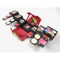 KMES 12 IN 1 Beauty Personal Makeup Kit For Women - (Red)