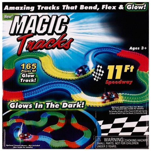 Magic Racetrack with Glowing Led Light