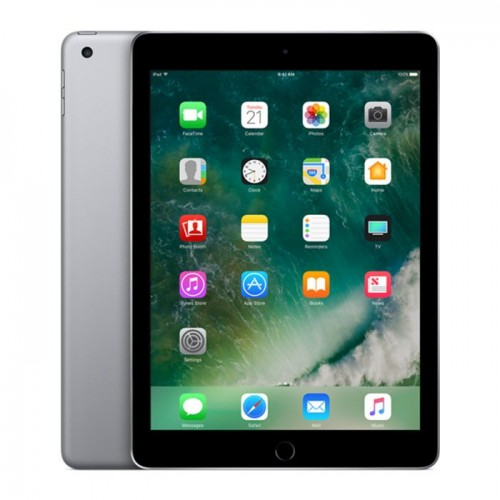 Apple iPad 9.7 2017 5th gen with FaceTime - 128GB Wifi + 4G LTE -Space Gray